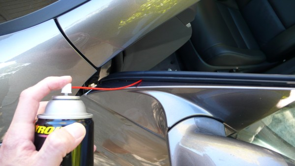 rattle fix upper door window trim acurazine acura enthusiast